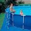 Intex Metal Frame pool 18 ฟุต 28252 + เครื่องกรองระบบไส้กรอง thumbnail 3