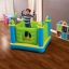 Intex Castle Bouncer Jump O Lene บ่อกระโดดเด็กปราสาทสีเขียว + ที่เป่าลมไฟฟ้า 48257 thumbnail 2