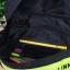 กระเป๋าเป้ใส่คาด-อกเวลาปั่นจักรยาน เสริมความปลอดภัยยามค่ำคืน สายคาดหน้าอก บุแถบสะท้อนแสง Linnell's (สีดำ) thumbnail 4