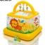 Intex Soft - Slides Lil' Baby Gym คอกกั้นเด็กเล็กนุ่มสีเหลือง 48473 thumbnail 2