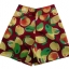 กางเกงขาสั้นและเสื้อผ้ามิลินพิมพ์ลายมะม่วง กระเป๋าขวา ซิปซ้าย เอวยางยืดหลัง thumbnail 3