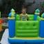 Intex Castle Bouncer Jump O Lene บ่อกระโดดเด็กปราสาทสีเขียว + ที่เป่าลมไฟฟ้า 48257 thumbnail 4