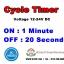 Cycle Timer(12v) : เปิด 1 นาที หยุด 20วินาที thumbnail 1