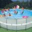 Intex Ultra Frame Pool 18 ฟุต เครื่องกรองน้ำเกลือ-ทราย (5.49 x 1.32 ม.) 28336 thumbnail 4