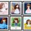 ครอสติสคริสตัล รูปการ์ตูนเจ้าหญิงแสนสวย มี 6 แบบ 6 สไตล์ thumbnail 1