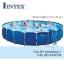 Intex Metal Frame pool 24 ฟุต 28262 + เครื่องกรองระบบไส้กรอง thumbnail 1