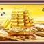 อุปกรณ์งานฝีมือ DIY ครอสติสคริสตัลรูปเรือสำเภาทอง (ใหญ่) thumbnail 2