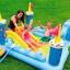 Intex Fantasy Castle Water Slide Play Center สระสไลด์เดอร์ปราสาท 57138 ฟรี สูบไฟฟ้า thumbnail 3