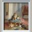 อุปกรณ์งานฝีมือ DIY ครอสติสคริสตัลภาพวาดแมวเหมียวแสนน่ารัก thumbnail 1