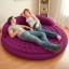 Intex Ultra Daybed Lounge ที่นอนเป่าลมแบบกลมสีม่วง พร้อมปั้มลมไฟฟ้า รุ่น 68881 thumbnail 2