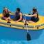 Intex ชุดเรือยางชาลเลนเจอร์ 3 ที่นั่งพร้อมพายอลูมิเนียมและที่สูบลมดับเบิ้ลควิ๊ก ทู Intex - 68370 thumbnail 2