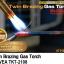 หัวพ่นไฟ หัวเชื่อมทองเหลืองท่อคู่ หัวพ่นแก๊สพลังไซโคลน สำหรับเชื่อมท่อแอร์ ท่อปะปา KT-2108 (TWIN BRAZING) thumbnail 2