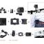กล้องกันน้ำ i-Smart- Sport DV Camera กล้องเทียบ SJCAM4000 กล้องติดหมวกกันน๊อก กล้องดำน้ำ กล้องถ่ายใต้น้ำ กล้องติดหน้ามอเตอร์ไซต์ กล้องจักรยาน รุ่นมีไวไฟในตัว (สีเงิน) thumbnail 10