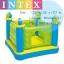 Intex Castle Bouncer Jump O Lene บ่อกระโดดเด็กปราสาทสีเขียว + ที่เป่าลมไฟฟ้า 48257 thumbnail 1