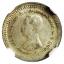 เหรียญกษาปณ์เงิน ชนิดราคาเฟื้อง ตราแผ่นดิน ร.ศ.122 รัชกาลที่5 AU58 thumbnail 1
