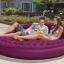 Intex Ultra Daybed Lounge ที่นอนเป่าลมแบบกลมสีม่วง พร้อมปั้มลมไฟฟ้า รุ่น 68881 thumbnail 4