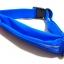 กระเป๋าคาดเอว 1 ซิป เกรด Premium ผ้าสัมผัสเนียนนุ่ม และกันน้ำ (สีน้ำเงิน) thumbnail 2