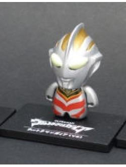 Bandai Ultraman Collechara 1 Our Core Characters Figures set of 4 Type C Gaia V2