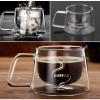 แก้วกาแฟ Double Wall Coffee Cup